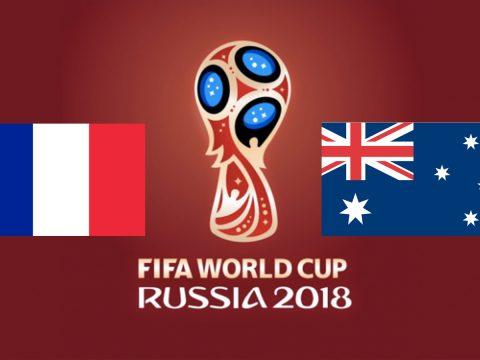 Soi kèo Pháp vs Úc Bảng C World Cup 2018
